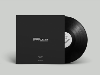 Vinyl Mockup Soundsortium music cover