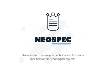 Neospec.io logo branding