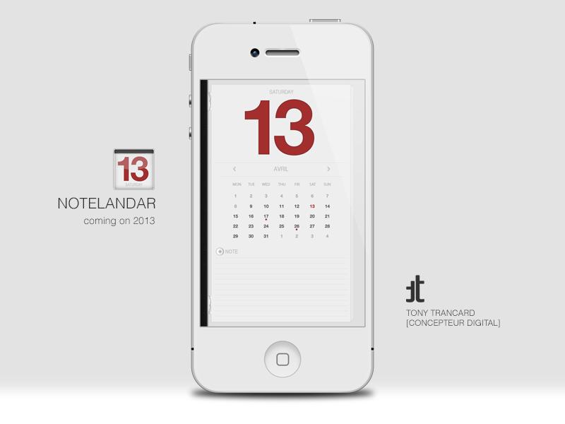 Notelandar Teasing app ios schedule notes