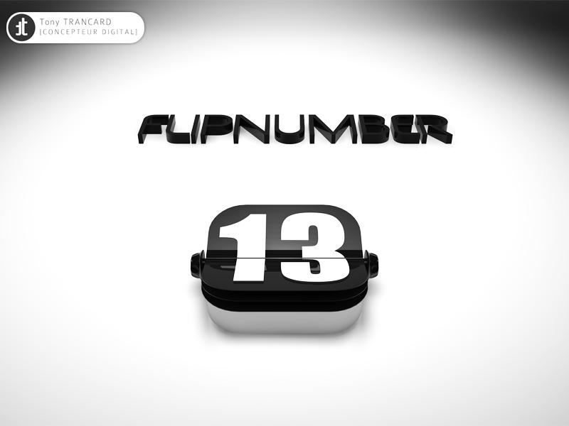 Flipnumber flip clock