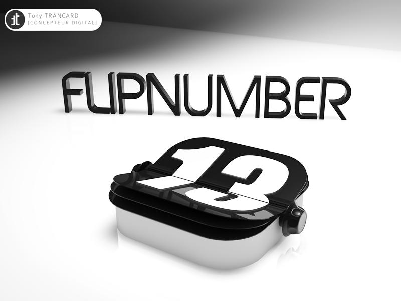 Flipnumber V2 flip clock