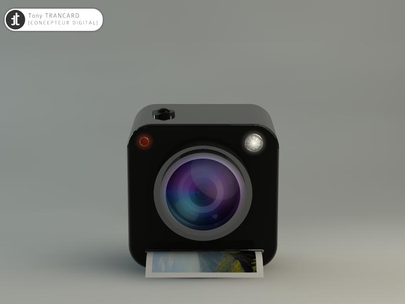 Icon Photo 3d icon