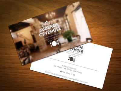 Branding Auberge Cévenole