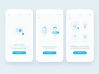 Onboarding Screens for Wish