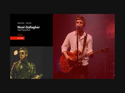 Noel Gallagher - High Flying Birds Poster