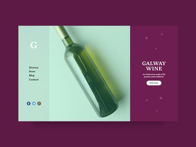 Galway Wine Dribbble