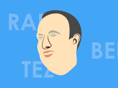 Rafa Benitez Illustration