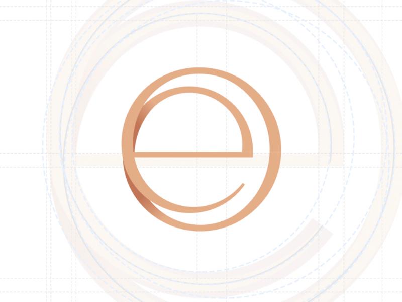 eo logo brand serif thin feminine stylish fashion sophisticated fancy elegant structure design character letter branding mark word mark o e brand logo