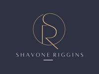 SR branding for Shavone Riggins