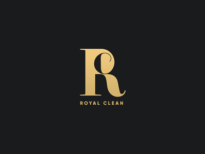 Royal Clean branding