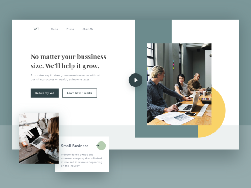 Product Landing Page webdesign ui simple clean interface modern green landing page landingpage product page product business objectivity design