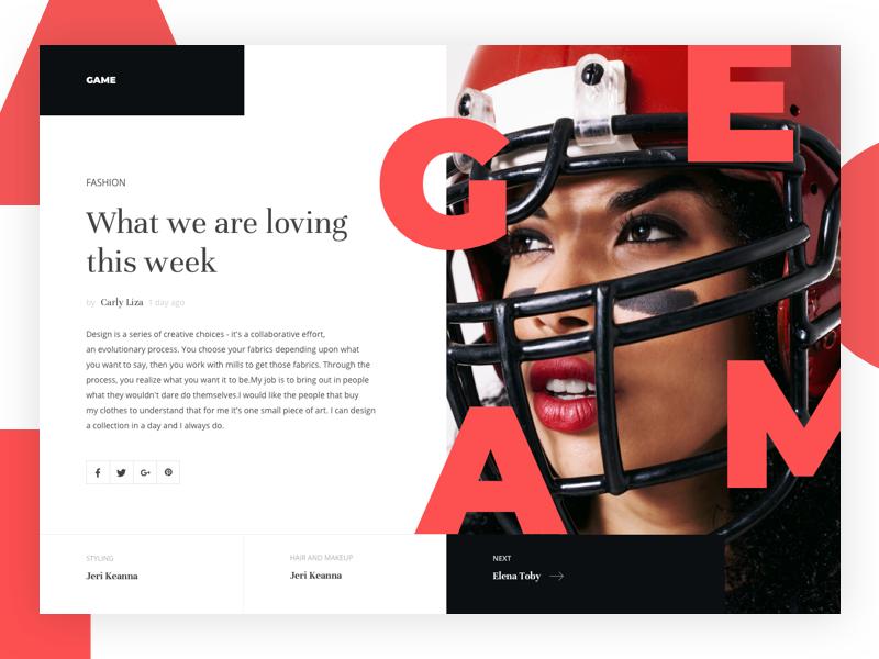 Fashion news site fashion