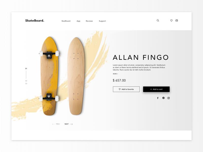 Skateboard Concept skateboard
