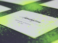 Business Card Customization