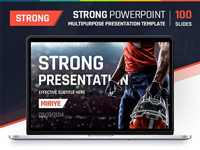 Strong Presentation Template presentation template powerpoint keynote strong