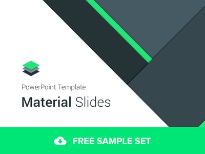 Material design powerpoint template by ergn dribbble javascript not enabled toneelgroepblik Choice Image
