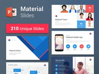 Material Design PowerPoint Template