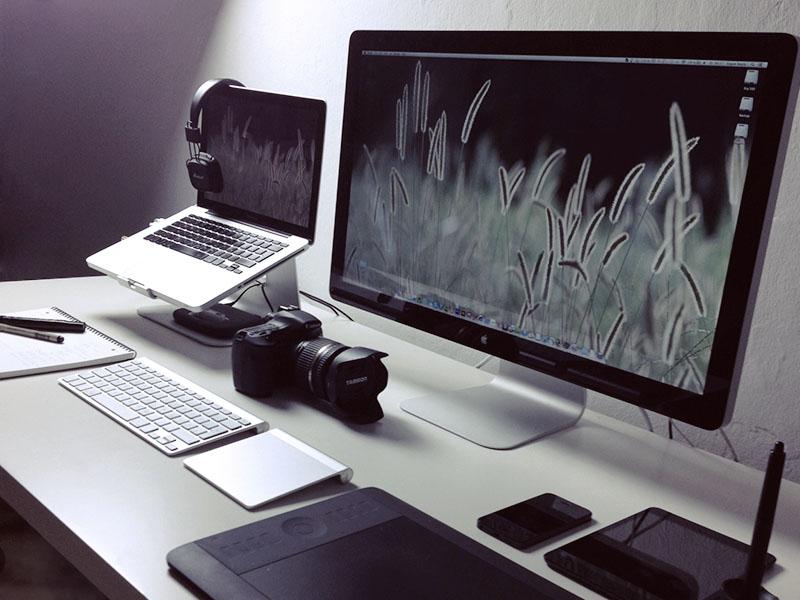 desktop setup result by erg n dribbble. Black Bedroom Furniture Sets. Home Design Ideas