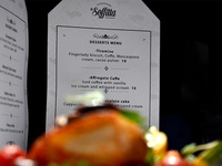 La Soffitta Desserts Menu