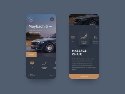 Mercedes-Benz — add option