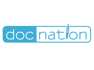 doc nation - Logo Design illustrator graphic design branding design identity branding logo design logo