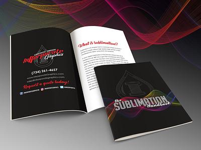 Sublimation Booklet apparel sublimation graphic designer marketing layout designer booklet graphic design