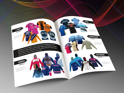 Sublimation Booklet layout apparel sublimation pamphlet booklet designer graphic designer graphic design