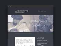 Professional Writer Website
