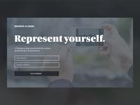 Startup Splash Page