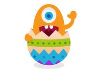 Easter monster