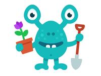 Gardener monster