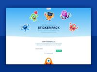 Monster sticker website