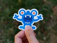 Scary little monster