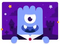 Dracula monster