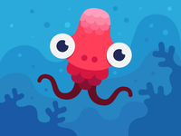 Little jellyfish monster