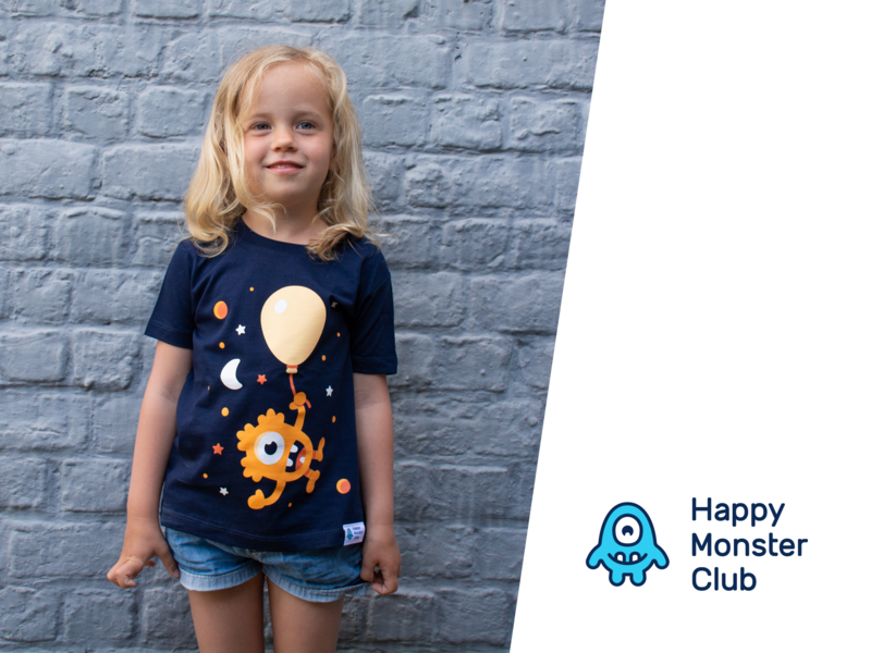 Cosmos t-shirt clothing clothing design kids illustration stars space cosmos monsters shirt shirtdesign