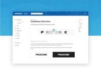 Procore Design Guidelines