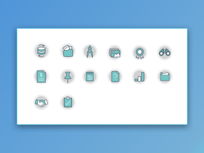 Journey Map Icons ideation design poster ux ui graphics illustrations icons