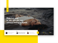 Website Full Width Slider Design