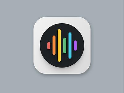 Daily UI #005: App Icon audio app icon ios icon icon app icon dailyui005 dailyui