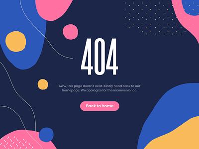 Daily UI #008: 404 Page 404 error page 404 page 404 pattern dailyui008 dailyui