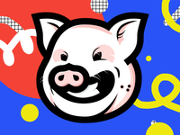 Piggy Smily | Grinning face