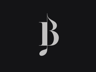 B note by sb on dribbble for Logo b b