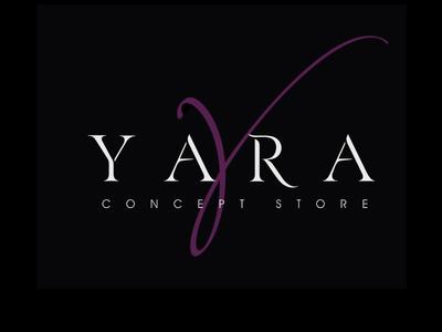 Yara identity branding brand logo clothes boutique model fashion store concept