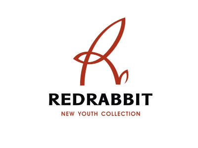 Monogram R - Redrabbit youth new logo identity clothes branding brand monogram rabbit