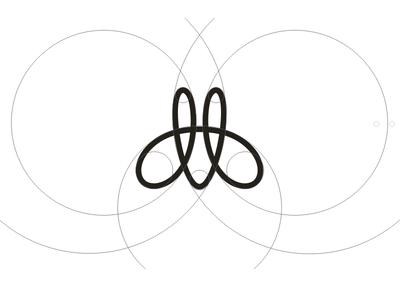 Marotta girls M-monogram caligraphy company jewerly monogram logo