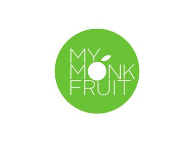 My Monk Fruit identity brand logo china cugar fruit monk