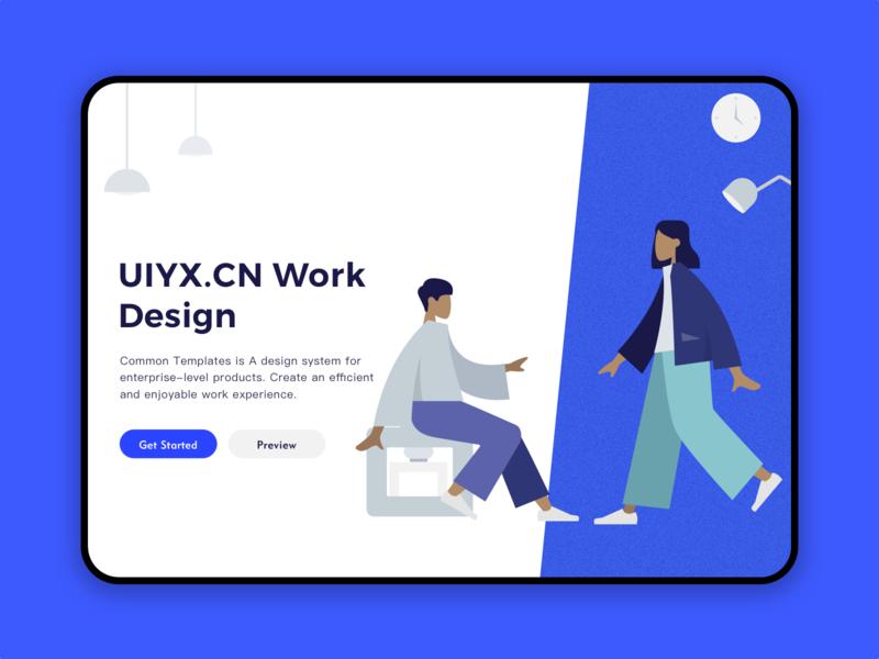 UIYX Website website design web website branding ui poster parper ux logo design illustration