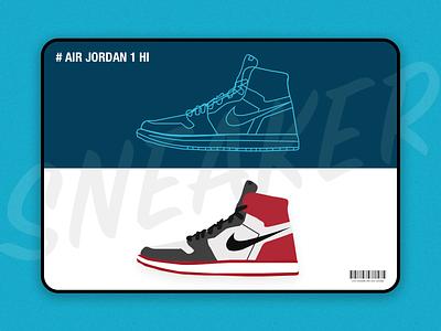 Shoes illustration Design logo lines air jordan nike shoes poster parper illustration ui design
