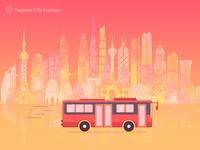 Popular City Scenery